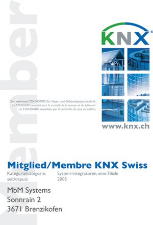 Mitglied Member KNX Swiss